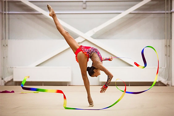 Гимнастика и музыка