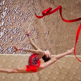 Полет-гимнастки